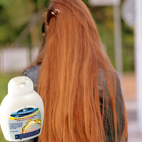 arganrain shampoo for hair care