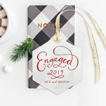 Engaged 2019 Ornament
