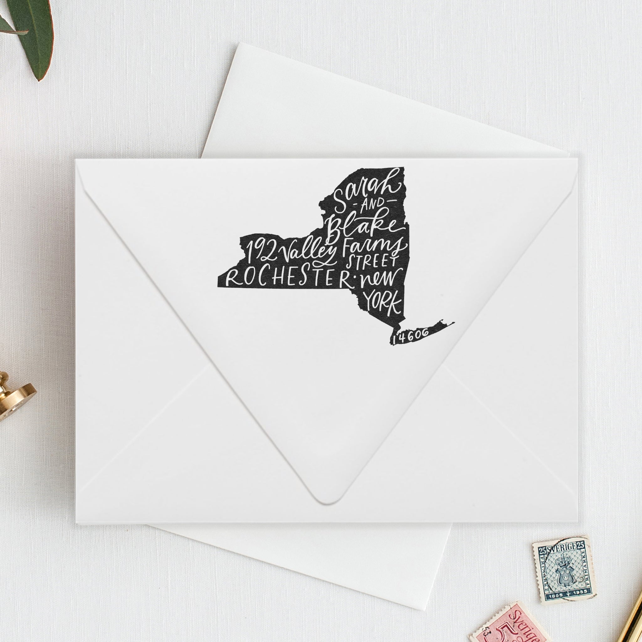 Return Address Stamp / State