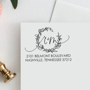 Return Address Stamp / Monogram