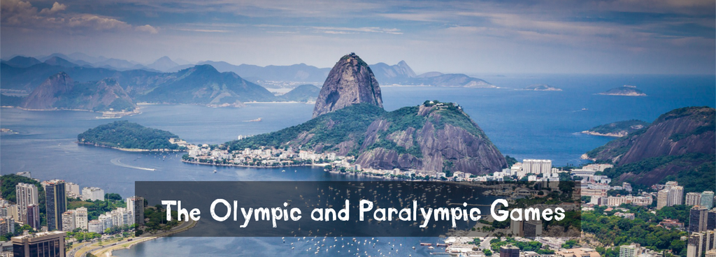 The Olympic and Paralympic games banner image