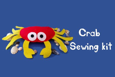 Crab sewing kit