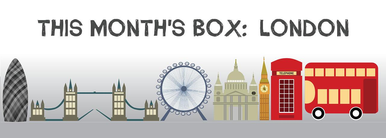 This month's box: London