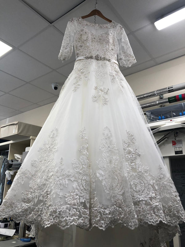 Wedding Gown Cleaning & Preservation