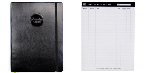 Passion Planner and Best self weekly action pad | The Smile Blog | TheWhiteningStore.com