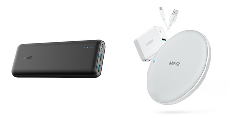 Anker portable charger and powerwave pad |TheSmileBlog |TheWhiteningStore.com