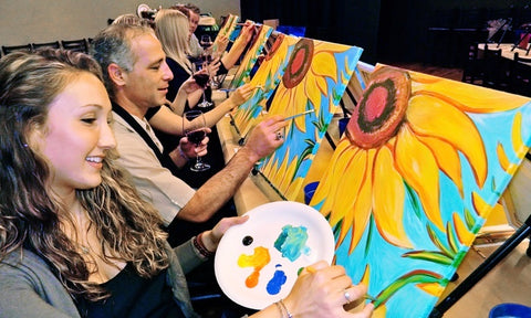 Painting class | The Smile Blog | TheWhiteningStore.com