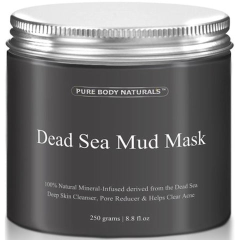 Pure Body Naturals Dead Sea Mud Mask | The Smile Blog | TheWhiteningStore.com