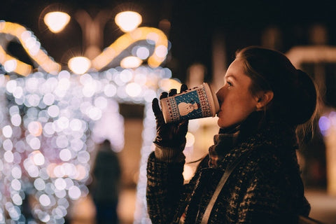 woman drinking out of a cup | the smile blog | thewhiteningstore.com