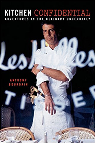 Kitchen Confidential by Anthony Bourdain | The Smile Blog | TheWhiteningStore.com