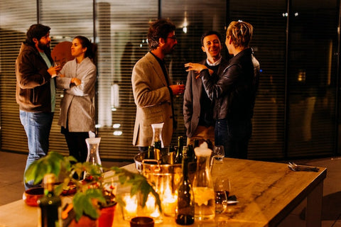 People at an office party | The Smile Blog | TheWhiteningStore.com