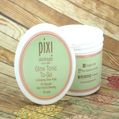 Pixi Glow Tonic To Go Face Pads | The Smile Blog | The WhiteningStore.com