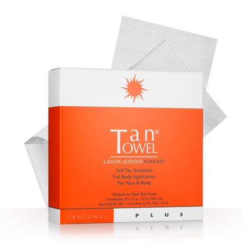 Tan Towel Self Tane Towelette | The Smile Blog | TheWhiteningStore.com