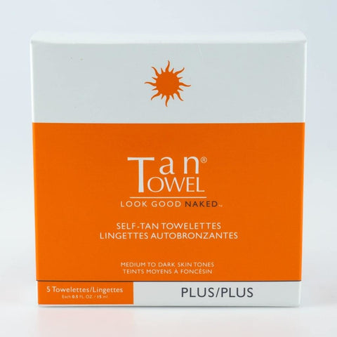 Tan Towel Self Tanning Towelette - Fully Body Plus - TheWhiteningStore.com