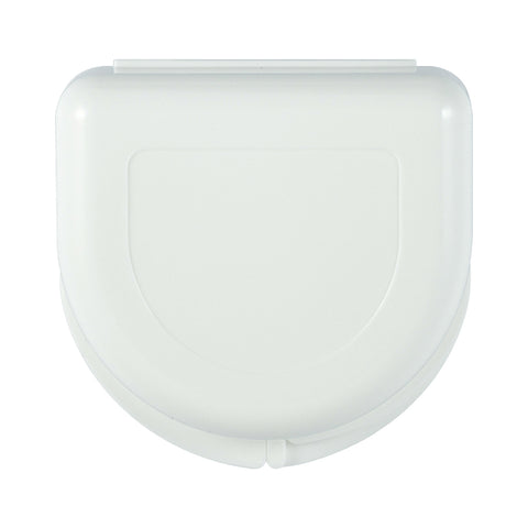 Mouth Tray Case / Retainer Case (Large, White) - TheWhiteningStore.com