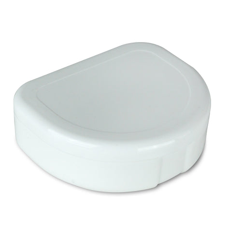 Mouth Tray Case / Retainer Case (Small, White) - TheWhiteningStore.com