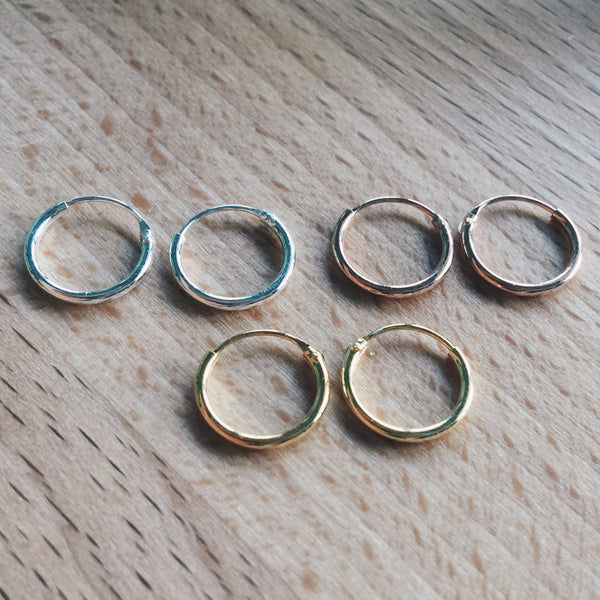 12mm Mixed Lot Hoops