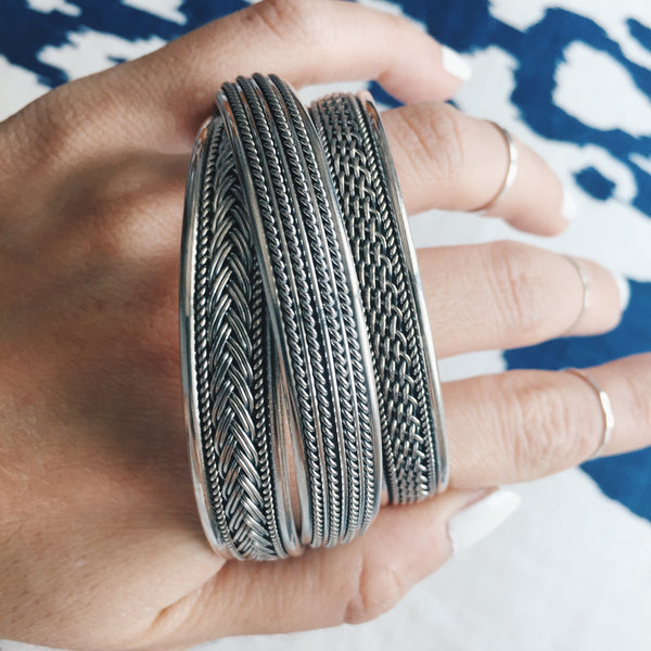Single Braid Bangle