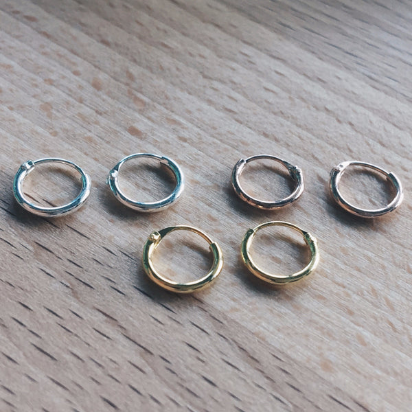 8mm Mixed Lot Hoops