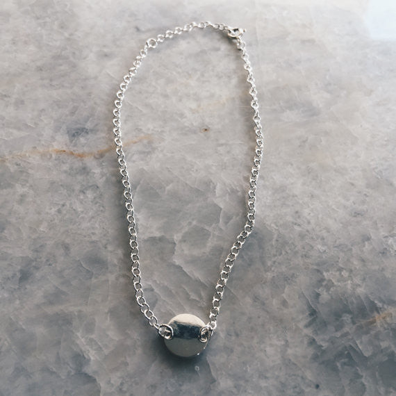 Circle Charm Anklet