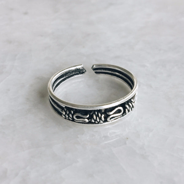 Bali Style Toe Ring