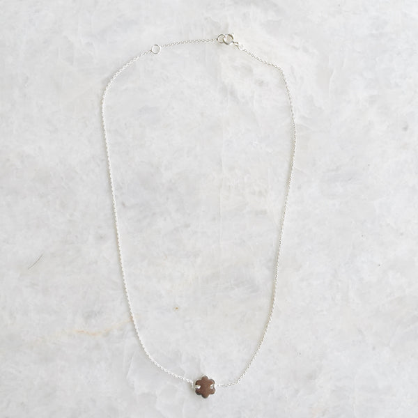 Dainty Flower Charm Necklace