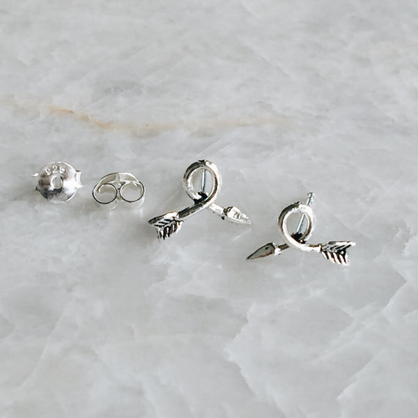 Twisted Arrow Studs