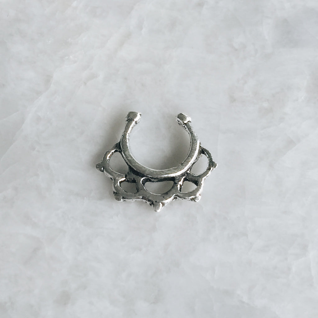 Tribal Style Septum Ring