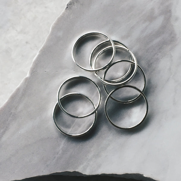 Classic Thin Stacker Ring