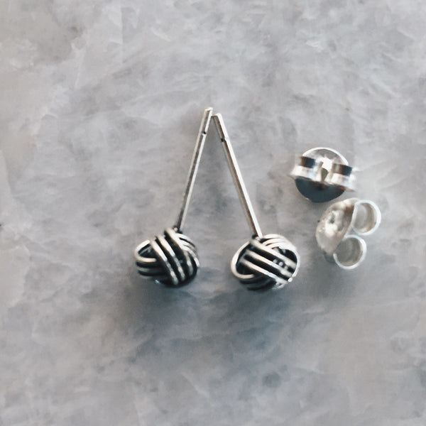 Oxidixed Knot Studs