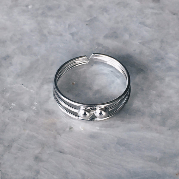 Ball Double Toe Ring