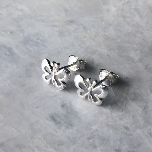 Butterfly Outline Studs