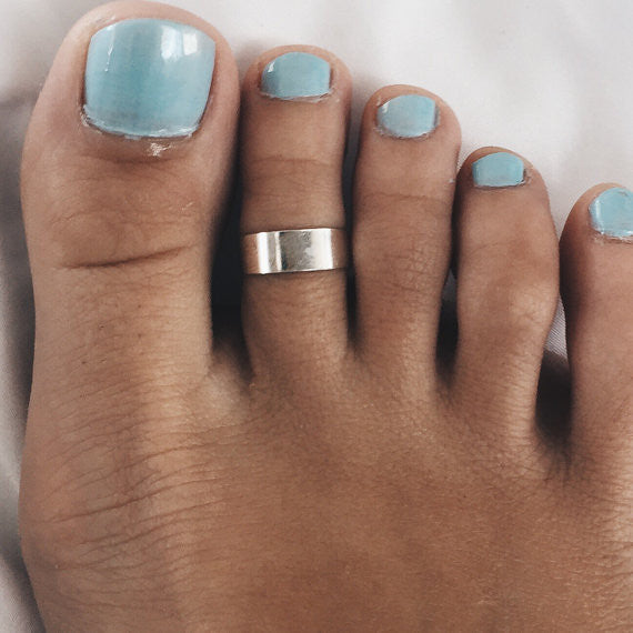 6mm Silver Toe Ring