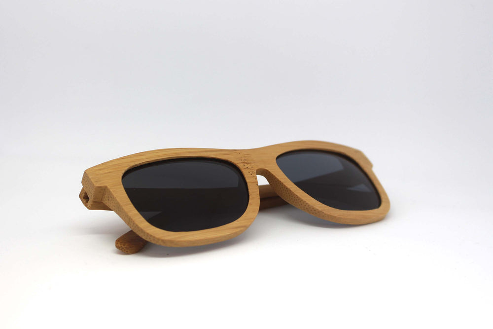 Pembroke: Mens Bamboo Sunglasses - Solis Bamboo Sunglasses
