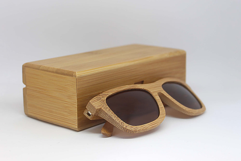 Betchworth: Mens Bamboo Sunglasses - Solis Bamboo Sunglasses