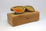 Lynton: Mens Bamboo Sunglasses - Solis Bamboo Sunglasses