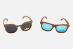 His & Hers: Zebrawood Sunglasses