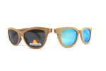 His & Hers: Natural Bamboo Sunglasses