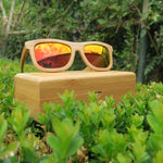 Lynton: Mens Bamboo Sunglasses