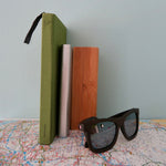 Shaftesbury: Mens Wooden Sunglasses - Solis Bamboo Sunglasses