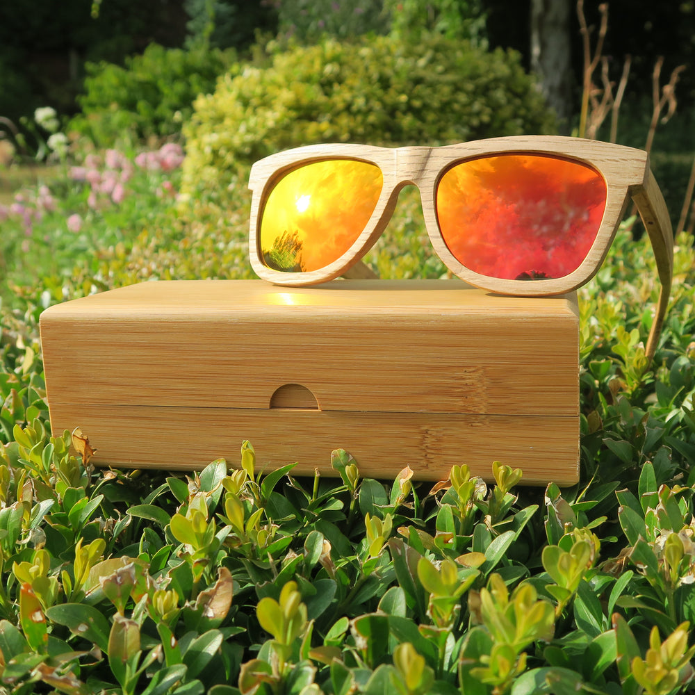 Lavenham: Mens Wooden Sunglasses