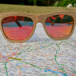 Lavenham: Mens Wooden Sunglasses - Solis Bamboo Sunglasses