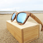 Woodstock: Mens Zebrawood Sunglasses