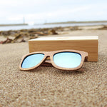 Lavington: Mens Rosewood Sunglasses - Solis Bamboo Sunglasses