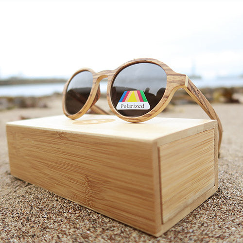 Firbank: Womens Zebrawood Sunglasses