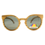 Beauworth: Womens Zebrawood Sunglasses - Solis Bamboo Sunglasses
