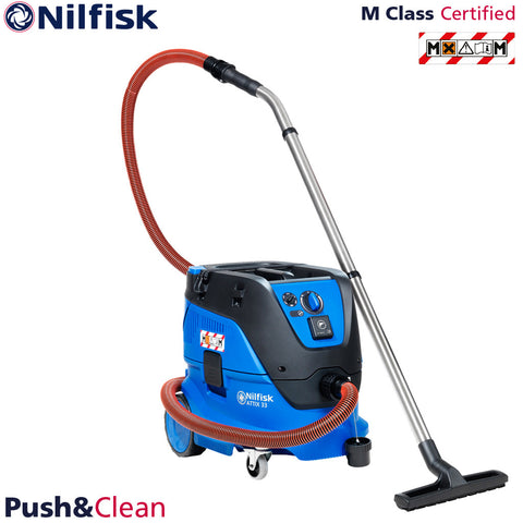 Nilfisk Attix 33 PC | M Class Vacuum Dust Extractor 240V