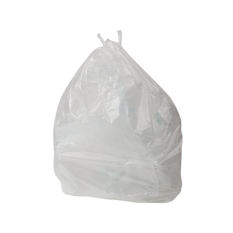 "Contract 90 Litre Clear Refuse Sacks - 18"" x 29"" x 39"" - Case/200"
