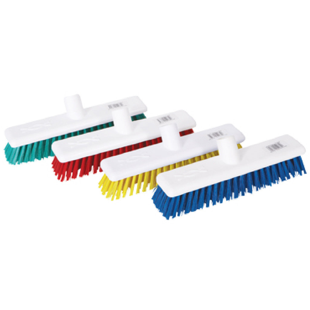 Abbey 'Hygiene' Washable Colour Coded Brushes - 30cm / 12""