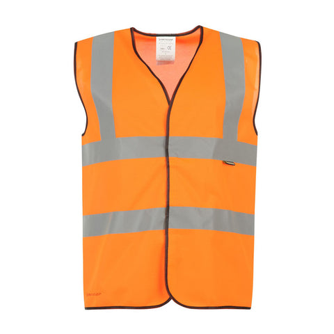 B-Seen® High Visibility Waistcoat / Vest - Orange